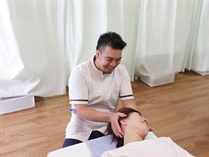 肩の痛み・頭痛の状態確認